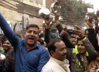 Traders Protest, Protest Against Sealing, BJP, AAP, Arvind Kejriwal