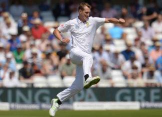 Chris Morris for rest test matches