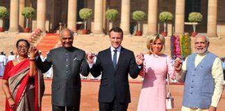 French President, Emmanuel Macron, PM Modi, Gaurd Of Honour,