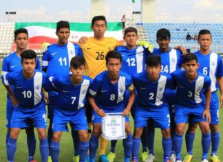 indian under 16 football team