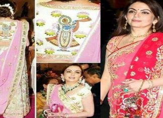 Business Women,Nita Ambani,Wife Mukesh Ambani,Costliest Saree