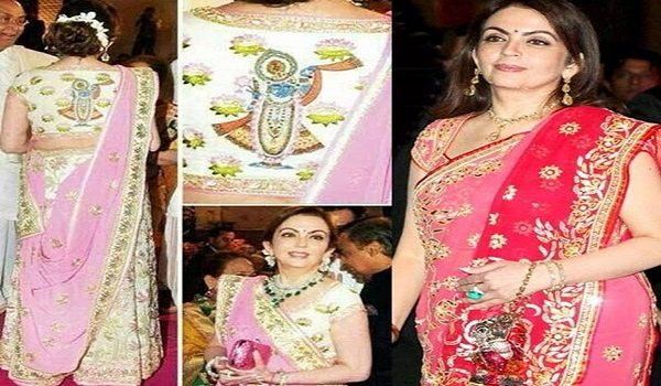 Business Women,Nita Ambani,Wife Mukesh Ambani,Costliest Saree