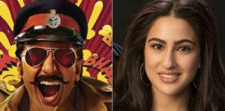sara ali khan with ranveer singh in upcoming movie simbha