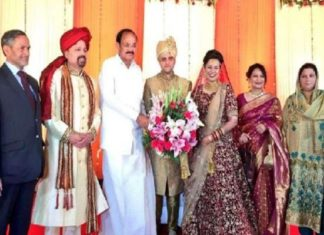 IAS topper, Tina Dabi, Marriage Reception, Delhi, Venkaiah Naidu