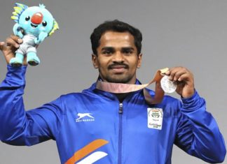 CWG 2018 Gururaj Wins Silver Medal In Weightlifting