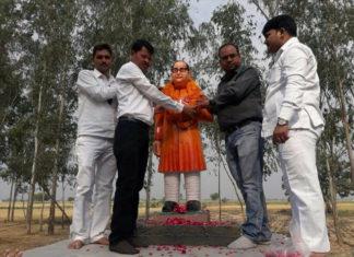 Ambedkar Statue, Saffron, BJP, Dalit, BSP, Badaayun