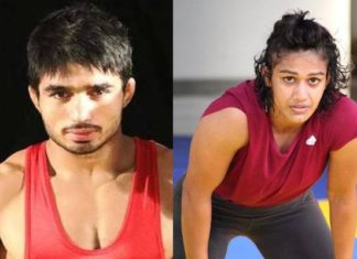 CWG 2018, Commonwealth Games, Rahul Aware, Gold, Babita Phogat