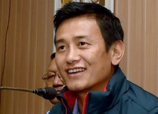 Footballer Baichung Bhutia, Hamro Sikkim Party, West Bengal, Trinamool Congress