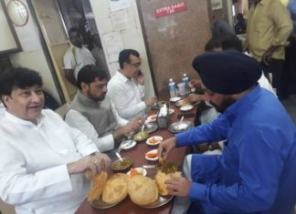 Congress fast, Arvinder Singh Lovely, Ajay Maken, BJP leader Harish Khurana