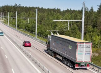 electric road sweden