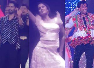 ranveer singh shahid kapoor katrina kaif karan johar shraddha kapoor manish malhotra dance video viral businessman NL Rungta daughter sangeet ceromony