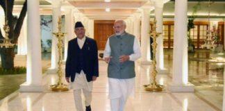 New Delhi, Nepal Prime Minister, K.P. Oli, PM Modi
