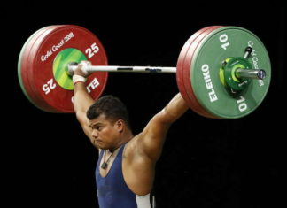 CWG 2018, Weighlifting, Rahul Ragda, Gold In CWG 2018