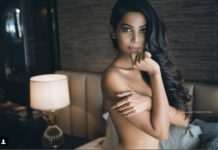 natasha suri,topless,photoshoot,share pictures,instagram,bold looks,Dwayne Bravo
