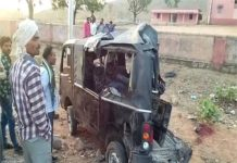 high-speed-truck-collided-with-a-car-killed-4-and-injured-14-