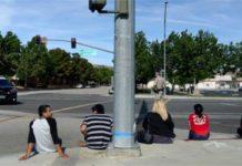 Firing, California, school, suspected, detained