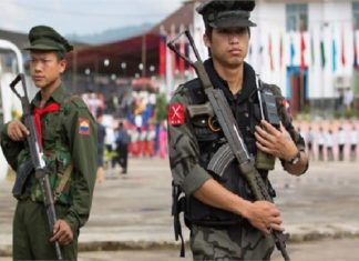 Myanmar, army, rebels, clash