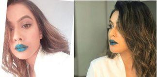 Television Actress,Blue Lipstick,Nia Sharma,Trolled
