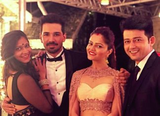Rubina dilaik,Abhinav shukla,party pictures,shimla party