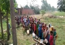 Bijnor, heat, water shortage, complaints from administration, people