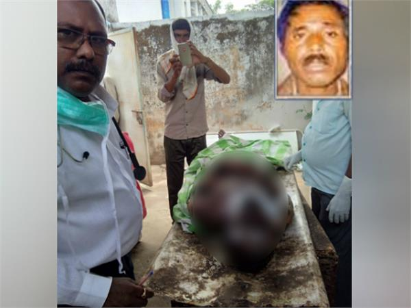 Illegal Seizure, Bhopal, Madhya Pradesh, Farmer, Bairasiya, Burnt the farmer