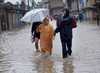 Jammu-Kashmir, Flood Alert, Holiday,