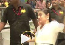 kajol,floor fell down,video,viral