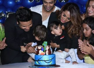 Krishna Abhishek,celebrate,children,first birthday,Ryan,Krishank,kashmira