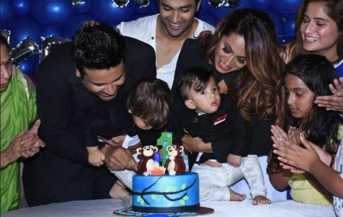 Krishna Abhishek,celebrate,children,first birthday,Ryan,Krishank,kashmira