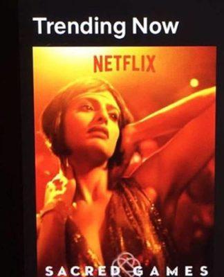 Web Series, Sacred Games,Netfilx,Director Anurag Kashyap,Nude Scene,7 Retakes,Actress Kubra Sait