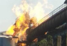 Bhilai Steel Plant, Gas Pipeline, Death, Wounded, Police Rescue Team